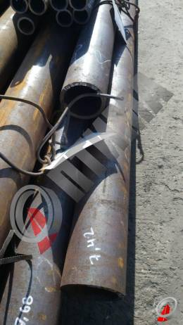 Труба стальная 102х10 фото со склада ООО «Оптима»