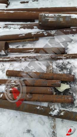 Труба стальная 108х20 фото со склада ООО «Оптима»
