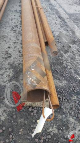 Труба стальная 108х5 фото со склада ООО «Оптима»