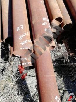 Труба стальная 114х8.5 фото со склада ООО «Оптима»