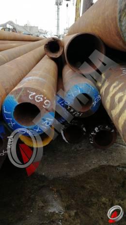 Труба стальная 121х30 фото со склада ООО «Оптима»