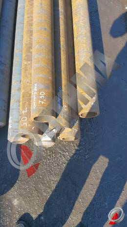 Труба стальная 127х14 фото со склада ООО «Оптима»