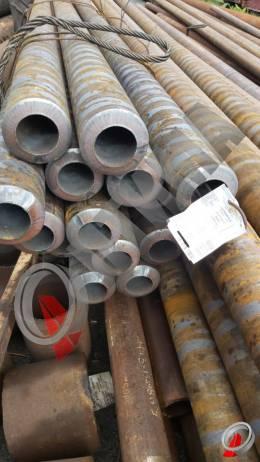 Труба стальная 127х25 фото со склада ООО «Оптима»