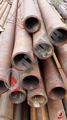 Труба стальная 168х14 фото со склада ООО «Оптима»