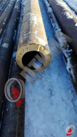 Труба стальная 168х28 фото со склада ООО «Оптима»