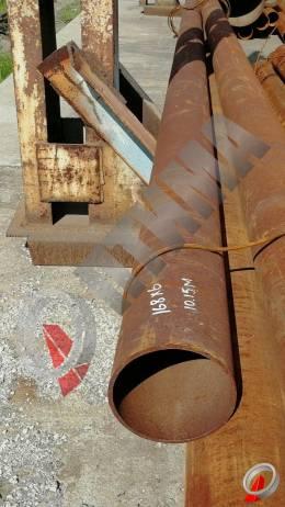 Труба стальная 168х6 фото со склада ООО «Оптима»
