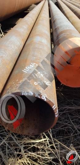 Труба стальная 168х9 фото со склада ООО «Оптима»