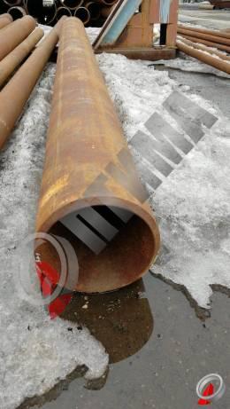 Труба стальная 219х12 фото со склада ООО «Оптима»