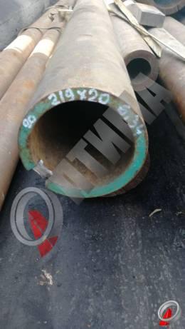 Труба стальная 219х20 фото со склада ООО «Оптима»