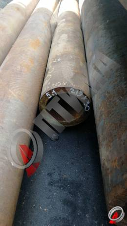 Труба стальная 219х30 фото со склада ООО «Оптима»