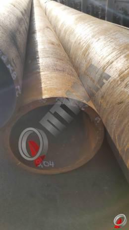 Труба стальная 245х16 фото со склада ООО «Оптима»