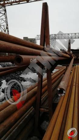 Труба стальная 24х5 фото со склада ООО «Оптима»