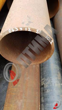 Труба стальная 273х12 фото со склада ООО «Оптима»