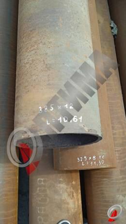 Труба стальная 325х12 фото со склада ООО «Оптима»