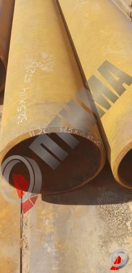 Труба стальная 325х14 фото со склада ООО «Оптима»