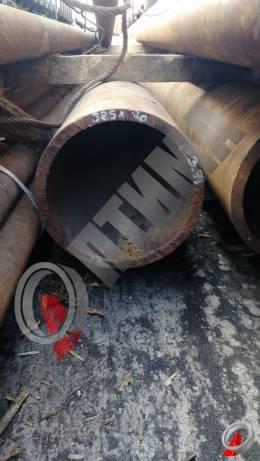 Труба стальная 325х20 фото со склада ООО «Оптима»