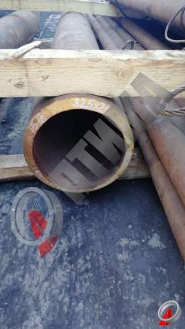 Труба стальная 325х26 фото со склада ООО «Оптима»