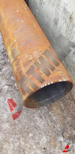 Труба стальная 325х8 фото со склада ООО «Оптима»