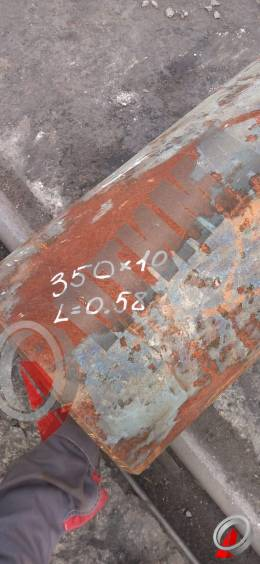 Труба стальная 350х10 фото со склада ООО «Оптима»