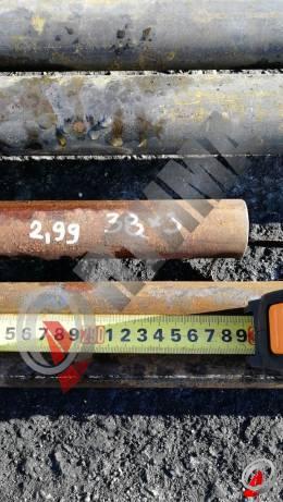 Труба стальная 38х3 фото со склада ООО «Оптима»