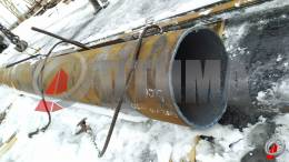 Труба стальная 402х10 фото со склада ООО «Оптима»