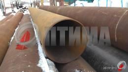 Труба стальная 426х10 фото со склада ООО «Оптима»
