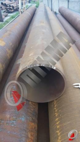 Труба стальная 426х16 фото со склада ООО «Оптима»