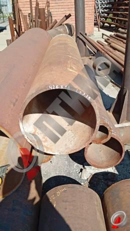 Труба стальная 426х18 фото со склада ООО «Оптима»