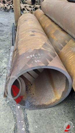 Труба стальная 426х20 фото со склада ООО «Оптима»