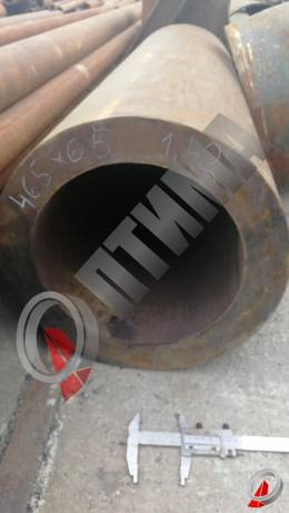 Труба стальная 465х65 фото со склада ООО «Оптима»