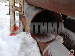 Труба стальная 508х12.5 фото со склада ООО «Оптима»