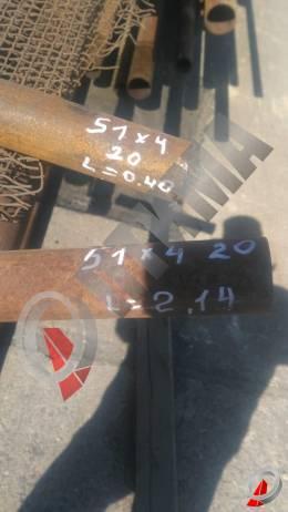 Труба стальная 51х4 фото со склада ООО «Оптима»