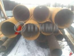 Труба стальная 530х16 фото со склада ООО «Оптима»