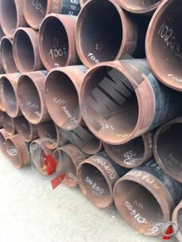 Труба стальная 530х19 фото со склада ООО «Оптима»