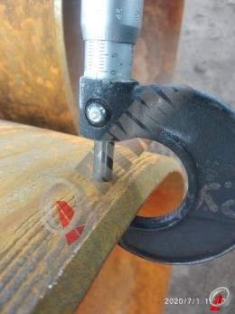 Труба стальная 530х8 фото со склада ООО «Оптима»