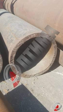 Труба стальная 550х50 фото со склада ООО «Оптима»