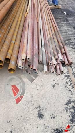 Труба стальная 57х12 фото со склада ООО «Оптима»