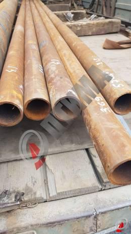 Труба стальная 57х3.5 фото со склада ООО «Оптима»