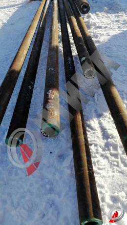 Труба стальная 64х13 фото со склада ООО «Оптима»