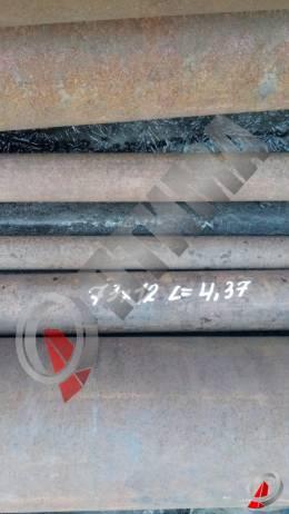Труба стальная 73х12 фото со склада ООО «Оптима»