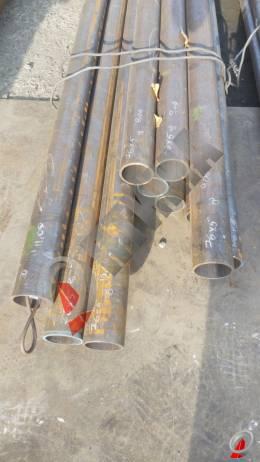 Труба стальная 76х5 фото со склада ООО «Оптима»