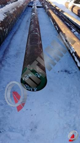 Труба стальная 83х20 фото со склада ООО «Оптима»