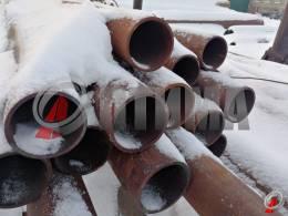 Труба стальная 95х5 фото со склада ООО «Оптима»